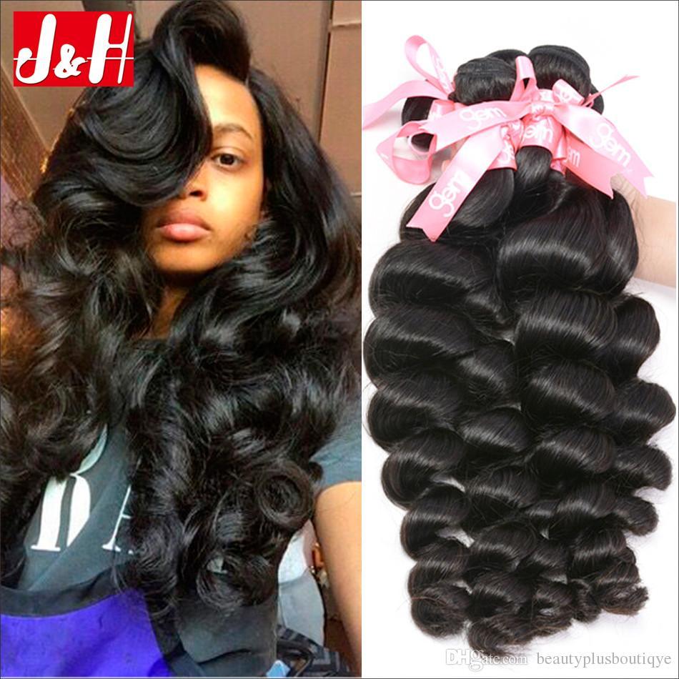 Grade 8a raw indian loose wave human hair bundles 3indian loose see larger image pmusecretfo Image collections