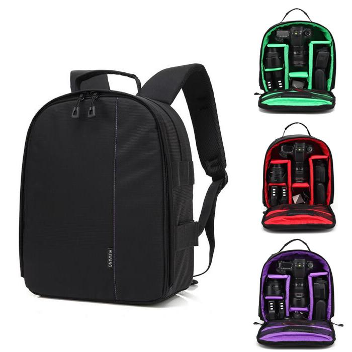2019 DSLR Camera Bags Video Photo Digital Camera Backpacks Waterproof  Fashion Travel Bag Case For Dslr Sony Canon Nikon From Sunny4ever d15bacf160585