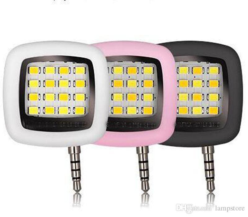 Built-in 16 led lights LED FLASH for Camera Phone support for multiple Photography mini selfie sync led flash Spotlight
