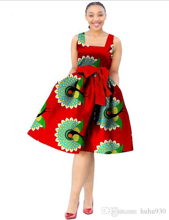 Africa Dress For Women Wax Print Dresses Dashiki Plus Size Africa Style Clothing for Women Office Dress Women African Clothes
