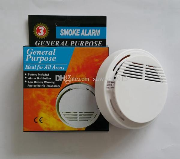 2020 Wireless Smoke Detector System With 9v Battery Operated High