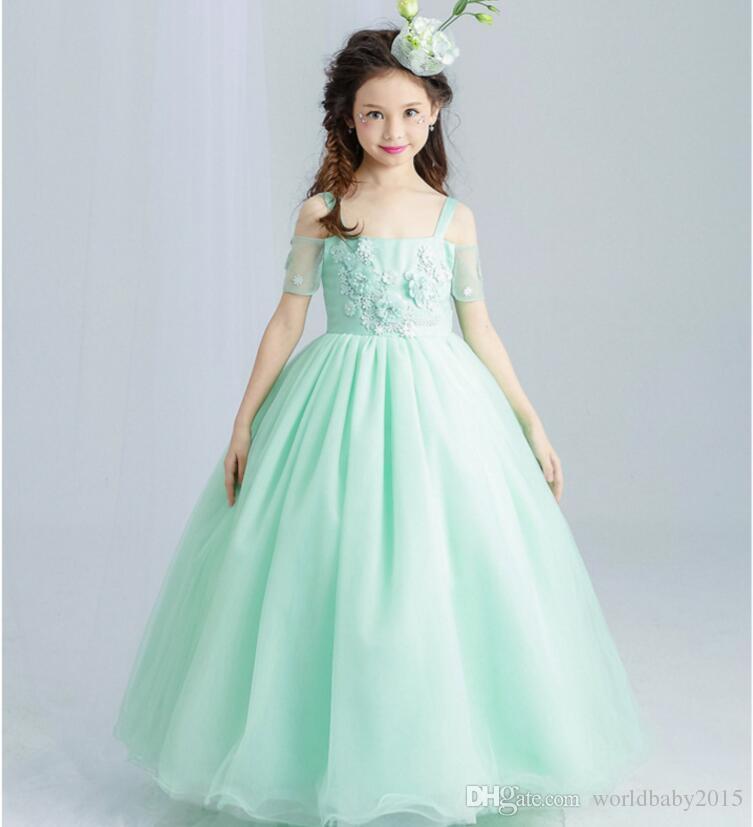 Vestidos De Graduacion Verde Menta Para Ninas Vestidos De