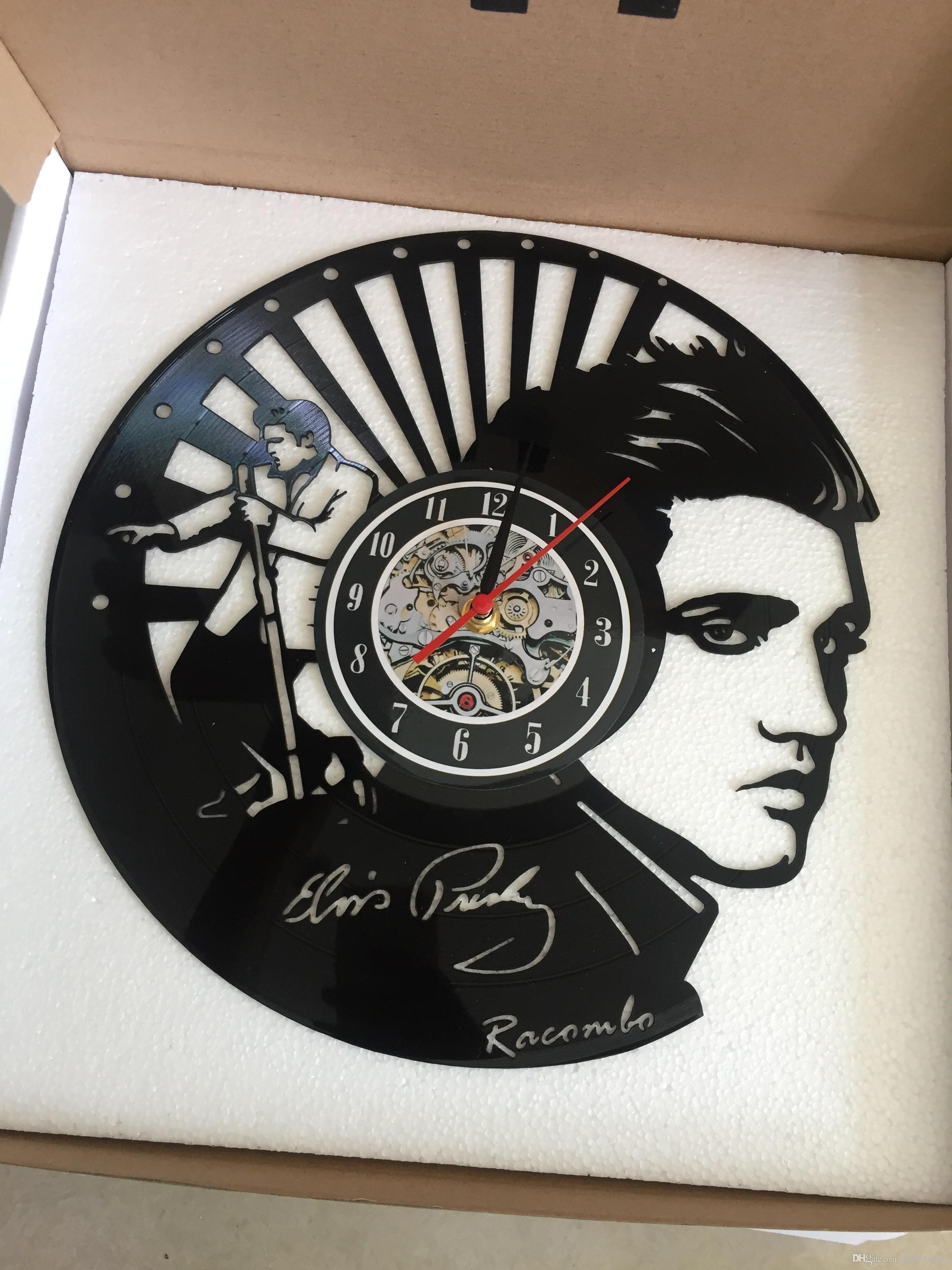 Großhandel Vinyl Wanduhr Batman Schlafzimmer Wanddekoration Geschenk ...