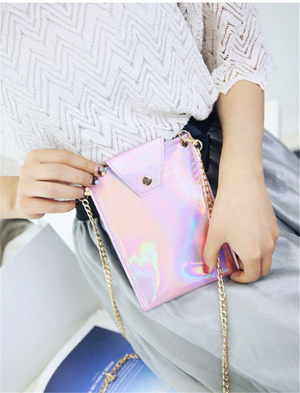 2017 Laser Mobile Phone Bags Shoulder Bags New Arrival Best Selling High Quality Elegant Fashionable