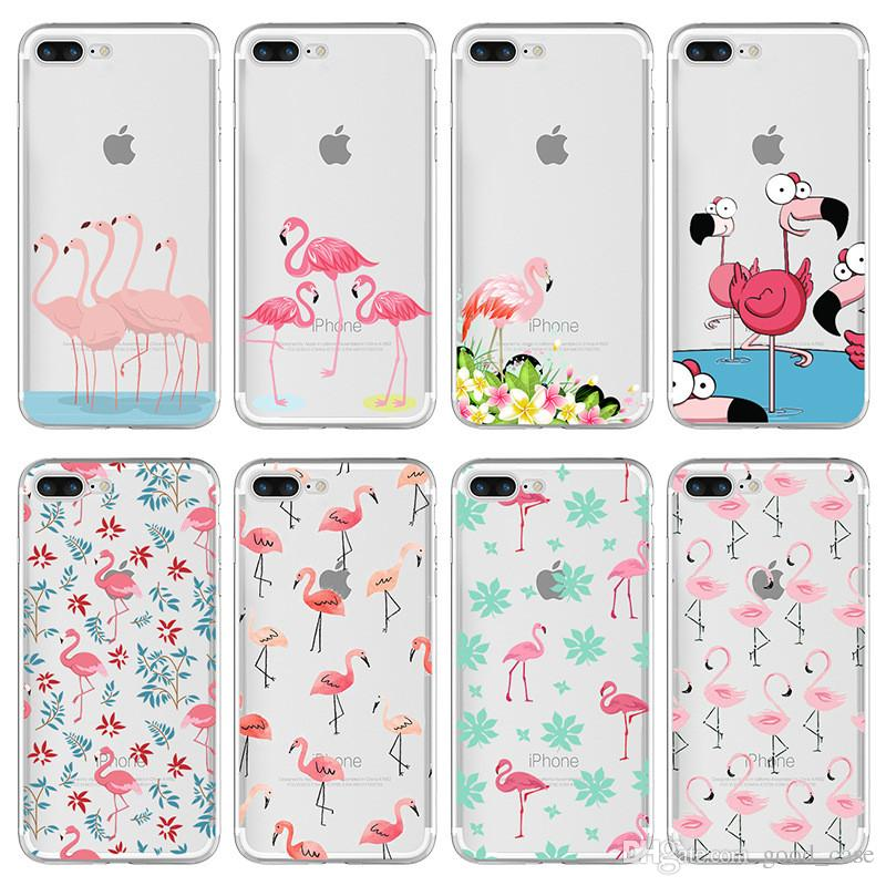 info for f5b6e 3de2c For iphone 8 case Fruit Pineapple flamingo cases animal birds Clear  Transparent TPU Case For iPhone 7 6 6S Plus 5S 5C SE 4 4S