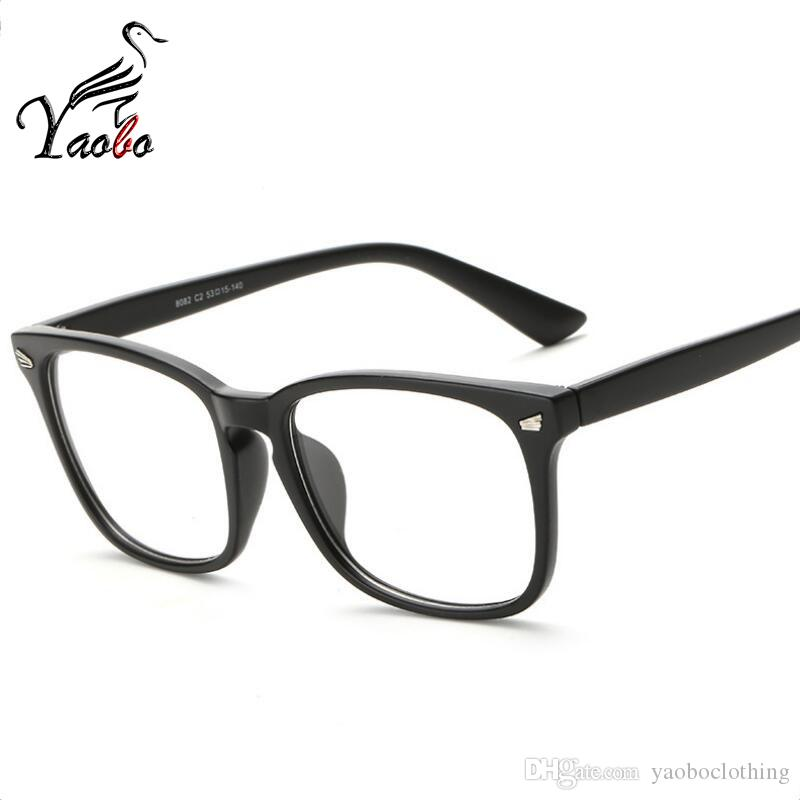 Yaobo Brand Design Fashion Square Women Eyeglasses Frames Men ...