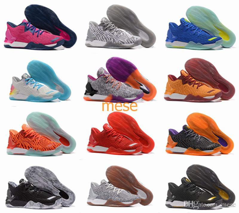 78c9ef1c89ed New D Rose 7 Low Englewood Boost Men Basketball Shoes Derrick Oreo BHM  Bruce Pink 7s Casual Sports Sneakers Size 40 46 Basketball Shoes For Kids  Basketball ...
