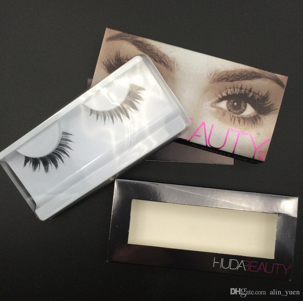Huda False Eyelashes Eyelash Extensions Handmade Fake Lashes