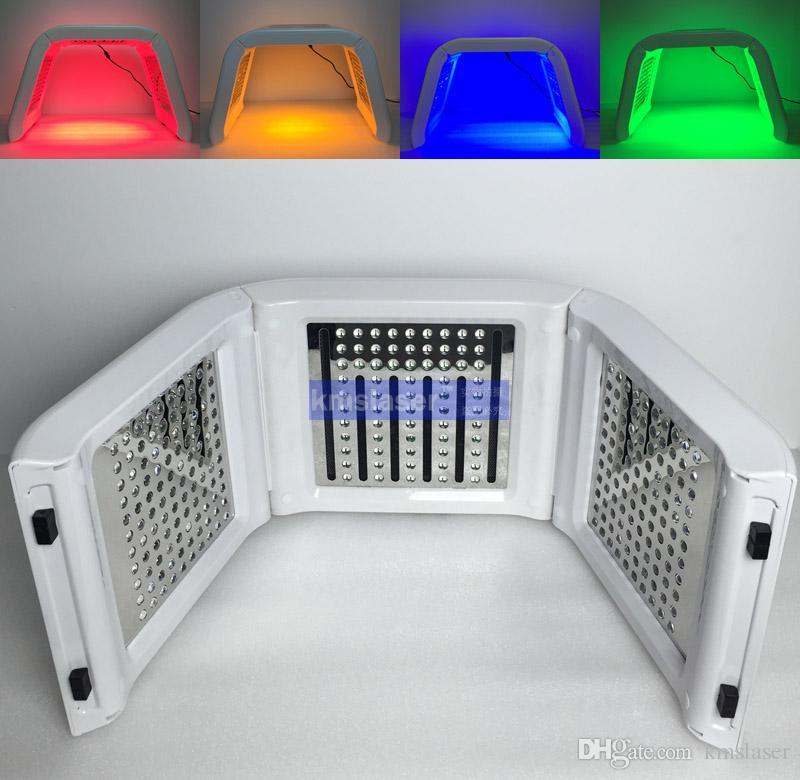 Machine de thérapie menée par lumière bio de 4 couleurs