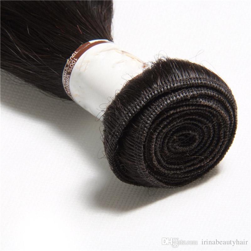 Cambodian Virgin Hair Straight Unprocessed Human Hair silky straight Brazilan Virgin hair /bundles Weaving Weaves