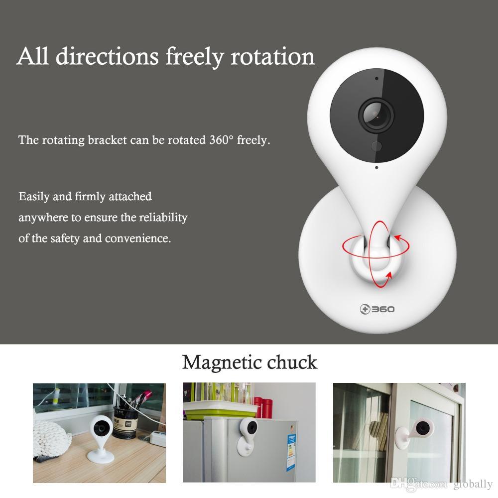 NUEVO 360 cámara casera 720P HD mini cámara IP WiFi Cámara de seguridad de vigilancia infrarroja inalámbrica inteligente Cámara de 2 vías de visión nocturna