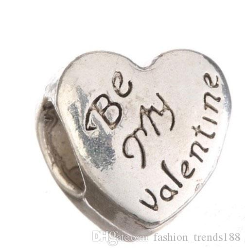 2017 fits pandora bracelets be my valentine beads silver safety chain charm bead for wholesale diy european sterling necklace women from fashion_trends188 - Pandora Valentines Bracelet