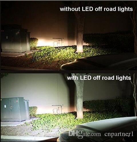 автомобильное освещение 4 дюйма 18 Вт 6 светодиодов LED свет работы бар внедорожник ATV 4WD 4x4 джип пятно наводнения Луч внедорожного вождения противотуманные фары прожектор лампы