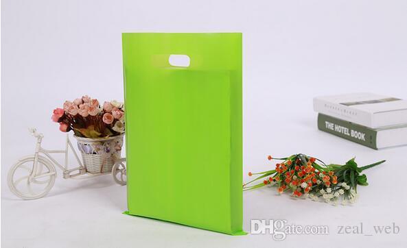 의류 / 인쇄 로고 프로모션 가방 손잡이 비닐 봉투 / 선물 플라스틱 포장 가방 쇼핑 사용자 정의 로고 7