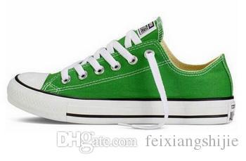 DROP envío al por mayor de alta calidad Renben discreta clásica Top Alto-top calzados informales de la zapatilla de deporte / zapatos de lona tamaño EUR35-46 de las mujeres de los hombres de