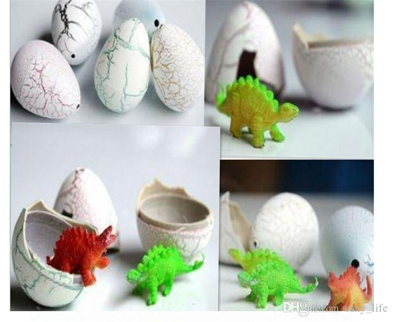 a of novelty water hatching inflation dinosaur eggs watercolor crack growth egg education toy gifts