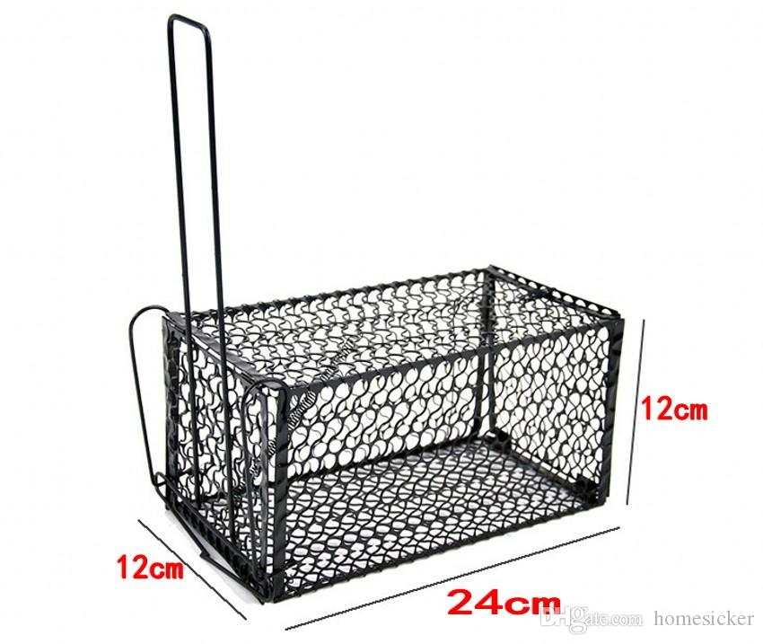 Funny Rodent Animal Mouse Humane Live Trap Hamster Cage Mice Rat Control Catch Bait Pest Control Tools