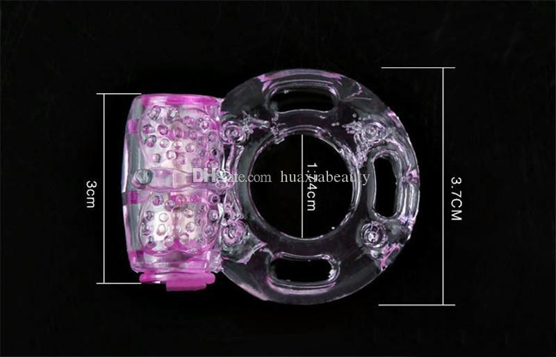 Cheapest price!!! Butterfly Ring Silicon Vibrating Cock Ring Penis Rings Sex Toys Sex Products Adult Toy