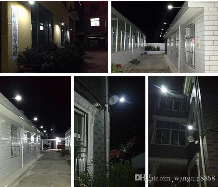 15 المصابيح الشمسية الضوء في الهواء الطلق LED تعمل بالطاقة الشمسية حديقة الأنوار PIR الجسم استشعار الحركة الأضواء الكاشفة الشمسية المصابيح أضواء مصباح