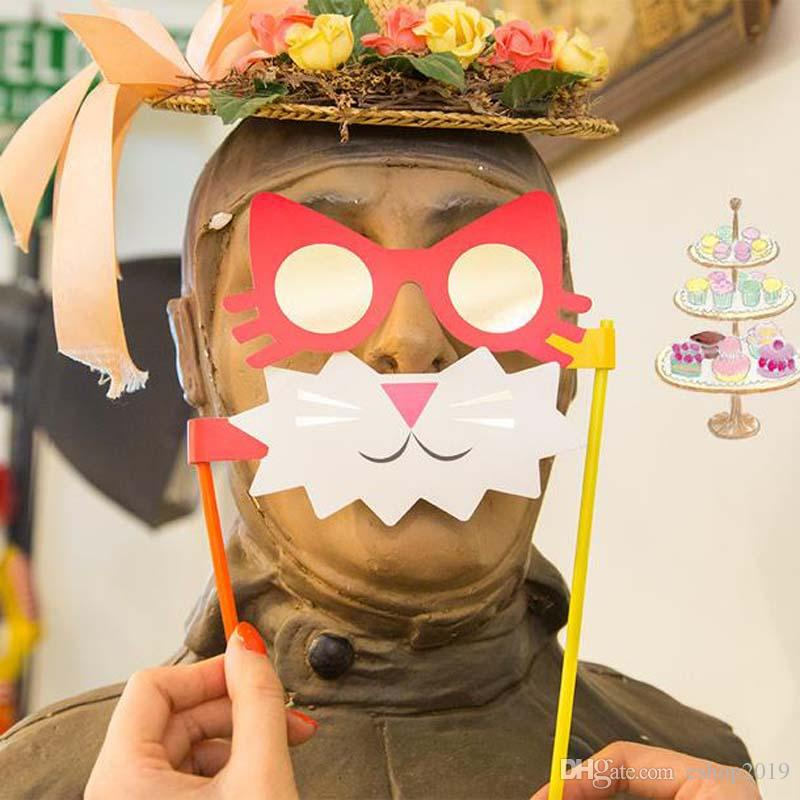 Creative interesting wedding products Photo props beard Cat party funny lovely modelling Wedding supplies