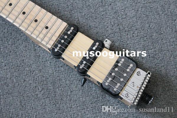 Maple fingerboard CARRYING TORBA ILE MINISTAR MARKA CASTAR-II SEYAHAT ELEKTRİK GİTAR