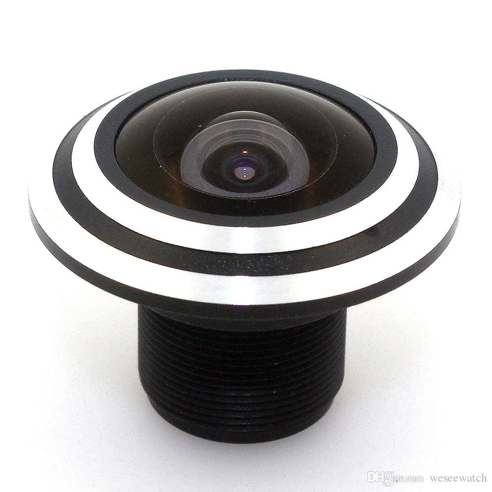 Metal 1.78mm lens wide Angle fisheye lens 180 degrees of entrance guard lens For cctv camera