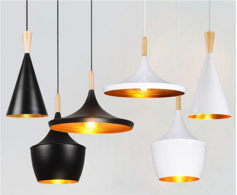 Vintage Style lamp European Industrial Wind pendant light E27 base droplight for restaurant home decoration Guest Room LED bulb