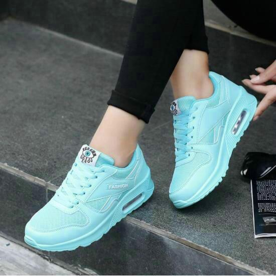 e8171f89a79 Compre 2017 Tenis Feminino Mujer Zapatos Casuales Primavera Coreanos Zapatos  Para Mujer Plataforma Para Mujer Zapatos Para Caminar Zapatillas De Deporte  ...