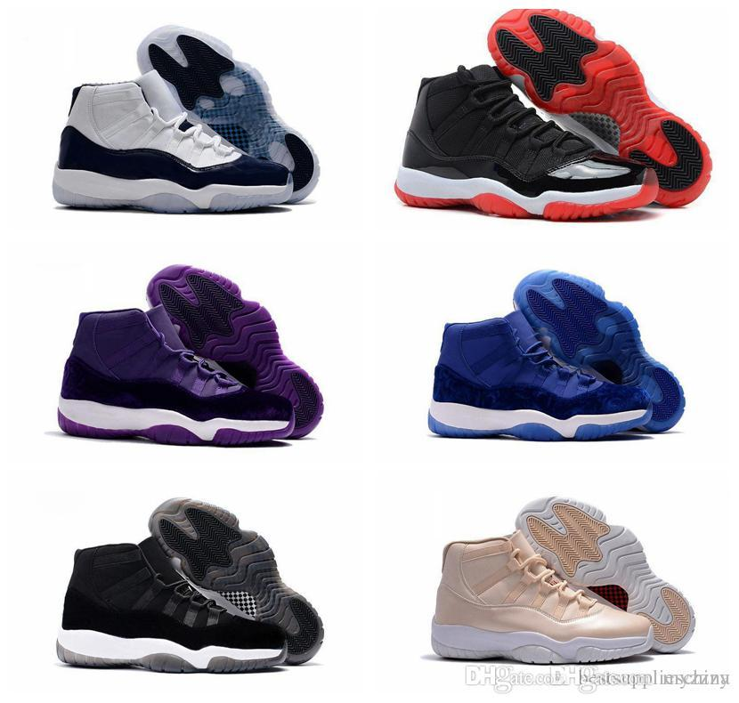 b6f3e962b88791 New Color 11 UNC Chicago Space Jam Bred Gamma Blue Basketball Shoes Men  Women 11s Concords 72 10 Legend Blue Sneakers With Box Loafers For Men Mens  Loafers ...