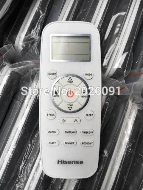 Wholesale-Free shipping air conditioning remote control for Hisense mando a  distancia