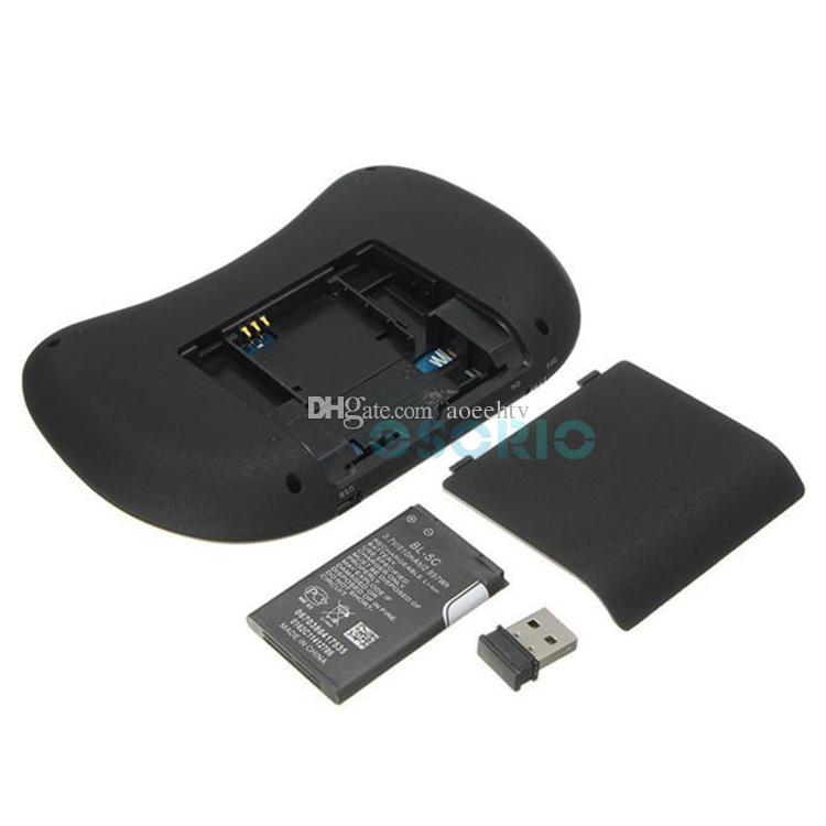 RII I8 Mosca mouse All-in-one controle Remoto mini Teclado Sem Fio e Mouse Game Handle Touchpad para Android Projetor PC Caixas de TV Inteligente