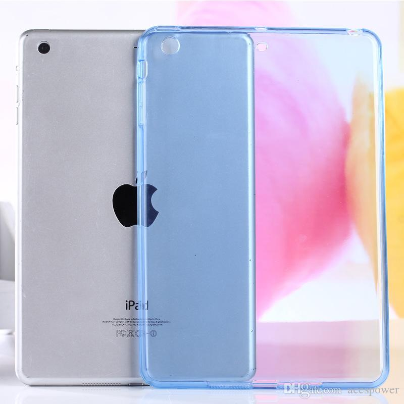 iPad Air2 Mini 5/4 iPad Pro 10.2 TPU trasparente trasparente custodia morbida pelle in silicone copertura posteriore sottile Apple iPad6