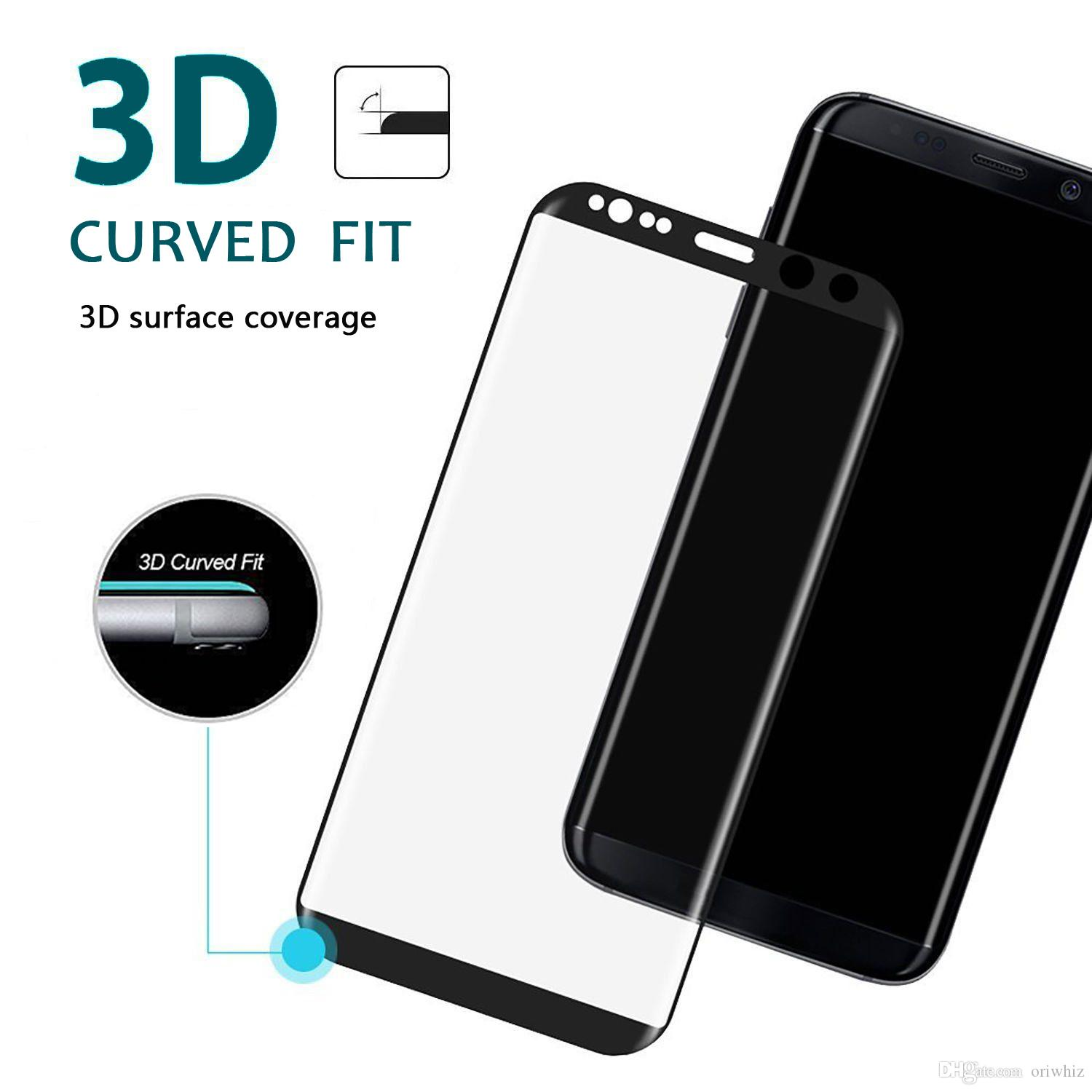 3d Carbon Fibre Full Cover Tempered Glass For Samsung Galaxy J2 J5 Oppo F3 White Premium Pro J7 Prime C5 C7 C9 A3 A5 A7 Screen Protector 5c Best Smartphone