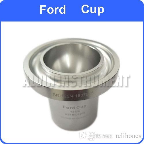 Ford Cups 2% di precisione ASTM FLOW CUP una facile misurazione della viscosità di vernici, inchiostri, lacche e altri liquidi ASTM D1200, D333 e D365