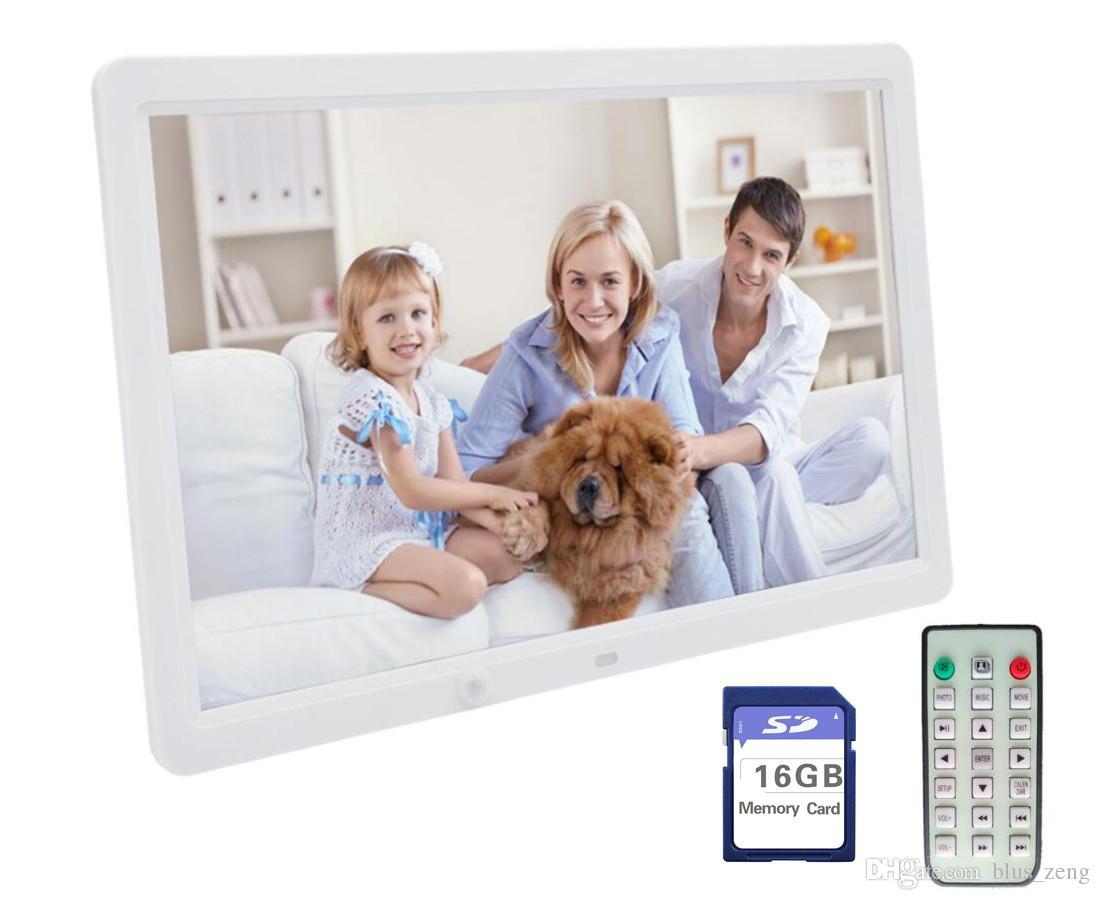 15-Inch Digital Photo Frame & HD Video 1080PWith Motion Sensor &16GB ...