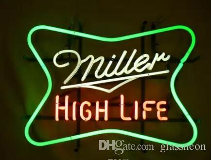 2018 new miller high life glass neon sign light beer bar pub arts 2018 new miller high life glass neon sign light beer bar pub arts crafts gifts lighting 22 from glassneon 8372 dhgate aloadofball Images