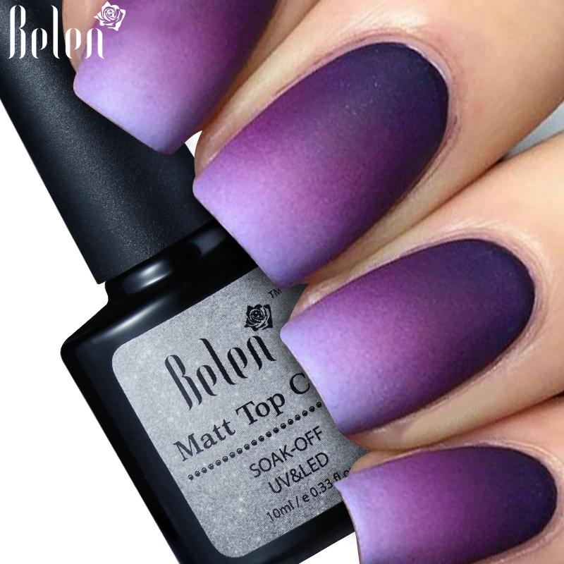 Wholesale Belen Cleaning Matt Top Coat Matte Uv Gel Nail Polish Uv ...