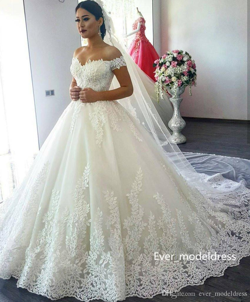 Discount 2017 saudi arabia lace wedding dresses sweetheart discount 2017 saudi arabia lace wedding dresses sweetheart backless off shoulder appliques real photo plus size bridal gowns custom made backless wedding ombrellifo Gallery