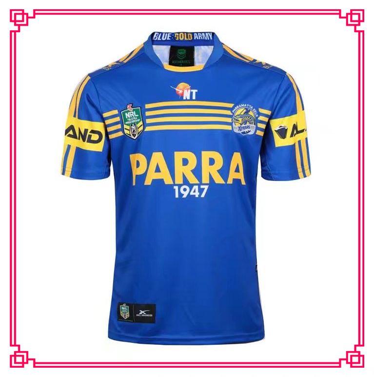 2889934d167 2019 2017 2018 Parramatta Eels Jersey 17 18 Top Quality Eels Rugby Away  Shirts Size S 3XL Men Shirts From Top1 jersey