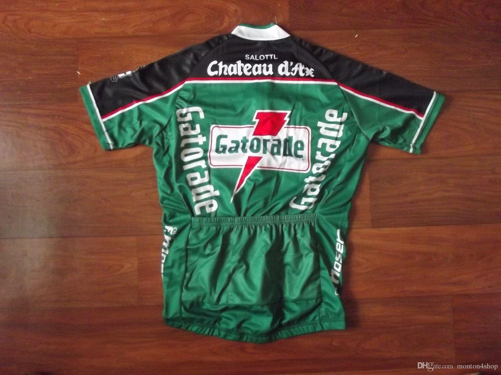 Chateau d'Axe Gatorade Mens Team Ropa Ciclismo Ciclismo Vestuário / MTB Roupas de bicicleta / Roupas de bicicleta / 2019 Ciclismo uniforme de ciclismo jerseys A59