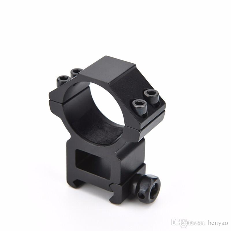 Gun Accessories Optical Sight Bracket Metal Dovetail Rifle Scope Mount Ring Weaver High 20mm Mount Dia 30mm Outdoor Hunting Tool