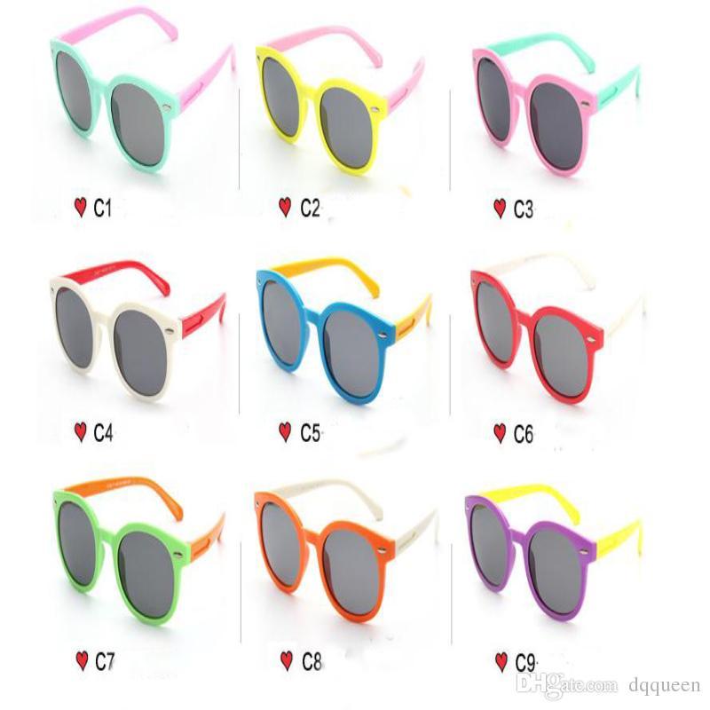66bd186b11 Compre es Gafas De Sol TAC De Alta Calidad Niños Niños Niñas Gafas De Sol  Polarizadas Moda Niños UV400 Gafas Protector Solar Deporte Al Aire Libre  Gafas De ...