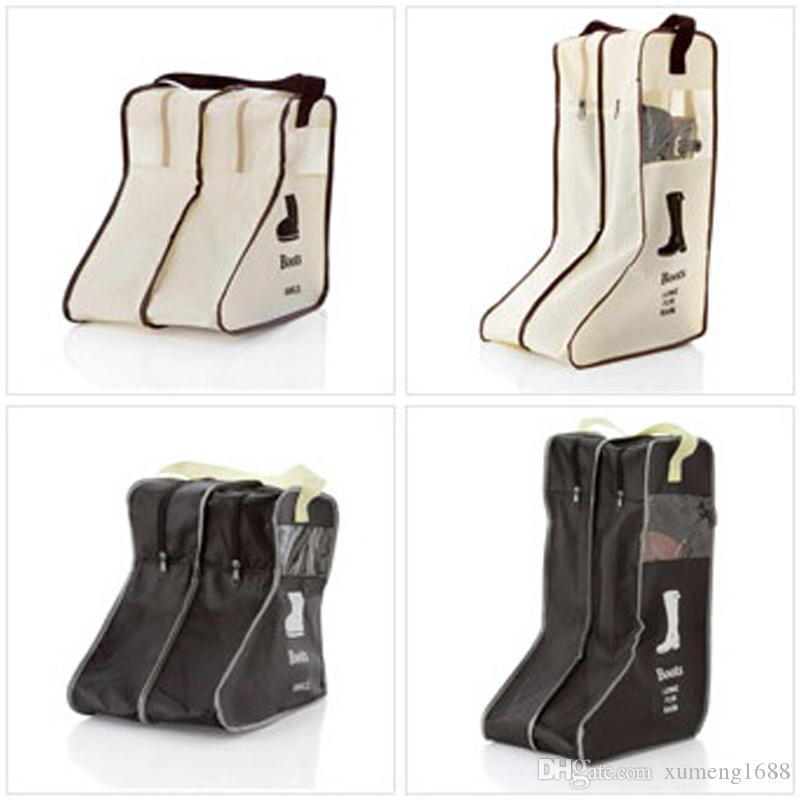 2 Size Boots Shoe Storage Bag   Closet Cabin Shoe Cover   Boot Organizer  Zipper Container Box   Boot Protector Storage Pouch Boots Shoe Storage Bag  Closet ...
