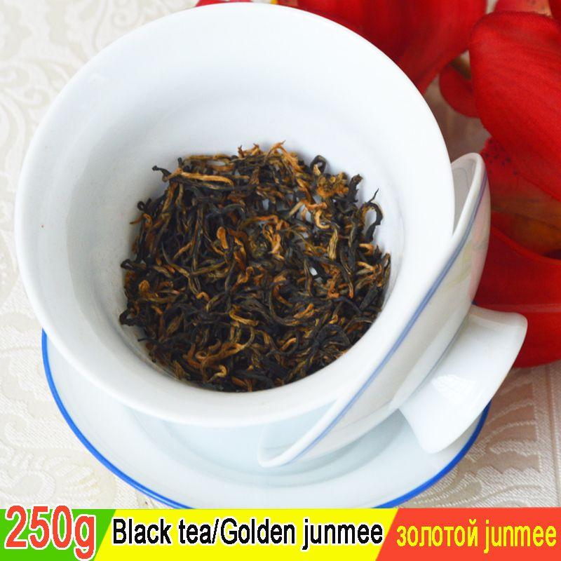 vente bon thé la main supérieure Jin Junmei Wuyi Black Tea 2019 printemps nouveau top thé authentique 250g livraison gratuite + cadeau