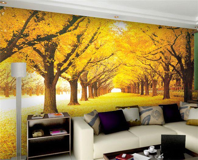 custom 3d wall mural wallpaper landscape