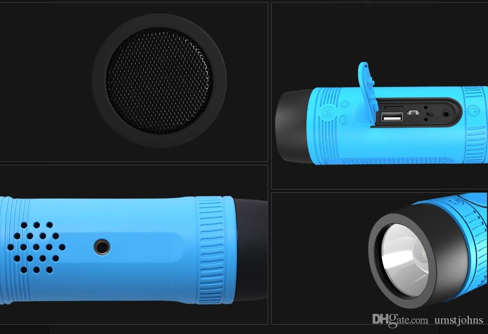 Zealots S1 bluetooth stereo Waterproof outdoor speakers Car ride speakers Bluetooth card speakers hifi high-fidelity sound quality