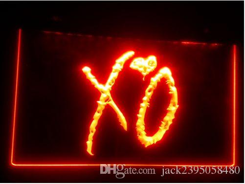 b-263 XO beer bar pub club 3d signs LED Neon Light Sign man cave