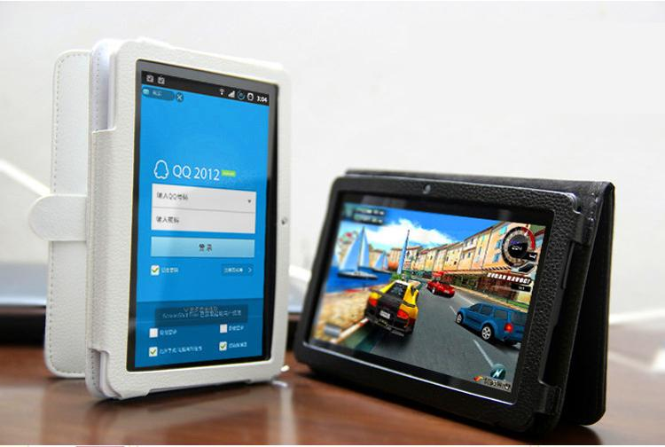 Q8.q88 Dual Core7inch Tablet Pc Android 4.4jelly Beans Allwinner A23 512m 4g Dual Camera 3000mah