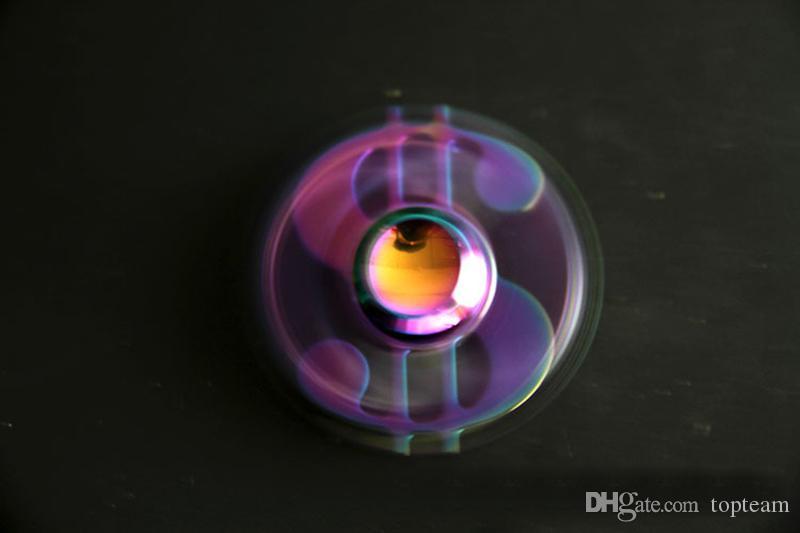 2 цвета цинковый сплав Радуга долларов США Ручной счетчик кончики пальцев спиральные пальцы гироскоп Torqbar непоседа счетчик декомпрессии игрушка