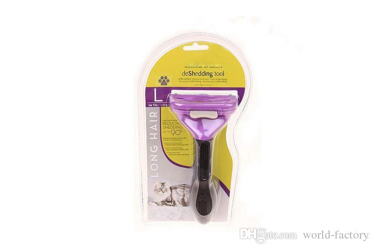 Pet Comb Tool Grooming Brushes Pet Grooming Products Cats With Packages Can Mix Brush Grooming Trimmer Comb Pet Rake